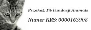 1 procent dla Fundacji Animals